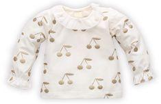 PINOKIO bluza dziewczęca z czereśniami