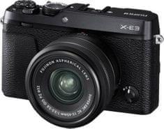 FujiFilm X-E3 + XC 15-45