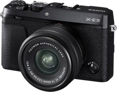 FujiFilm X-E3 + XC 15-45 Black