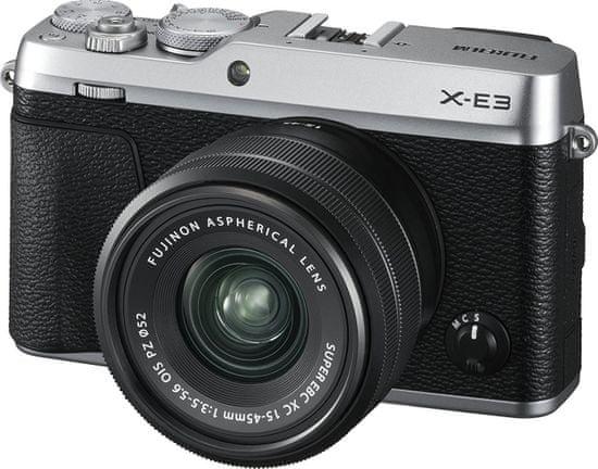 FujiFilm X-E3 + XC 15-45 Silver