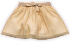 PINOKIO dievčenská metalická sukňa