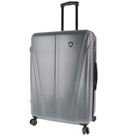 Mia Toro Utazó bőrönd M1238/3-L ezüst