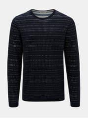Garcia Jeans tmavě modrý pánský pruhovaný svetr