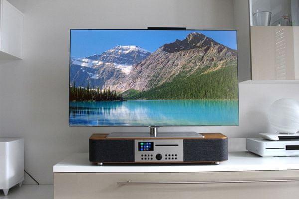 Multiroom přístroj Soundmaster ICD2018 s USB Bluetooth MP3 AUX k TV zvukový panel internetová rádia