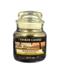 Yankee Candle Classic kicsi 104 g Fekete kókusz