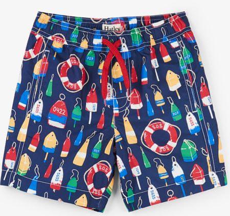 Hatley deške plavalne hlače UV 50+, 92, modre