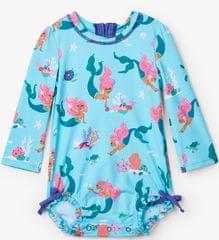 Hatley lány fürdőruha UV 50+ - türkiz