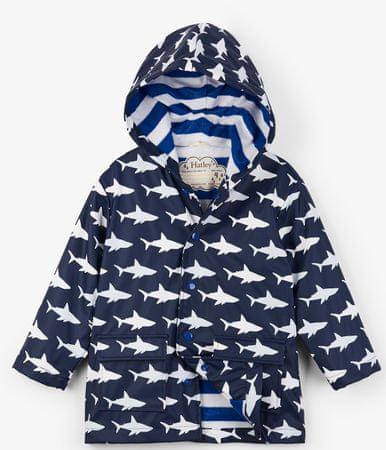 Hatley színváltó fiús vízhatlan kabát 92 kék