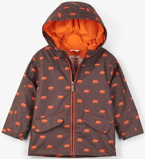 Hatley chlapecký nepromokavý kabát 110 hnědá