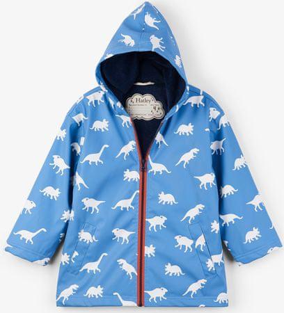 Hatley chlapecký nepromokavý kabát měnící barvy 92 modrá
