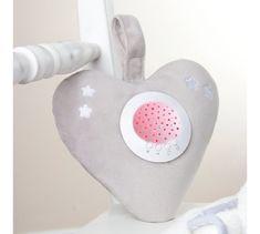 Little Chick glazbeni zvjezdani projektor s umirujućim zvukovima, srce