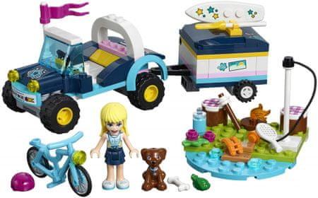 LEGO zestaw Friends 41364 - Łazik z przyczepką Stephanie