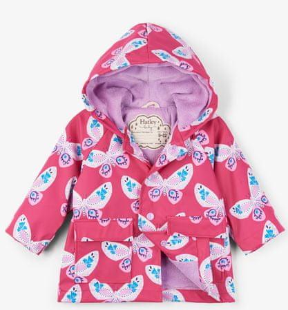 Hatley lányos vízhatlan kabát 74 - 80 rózsaszín