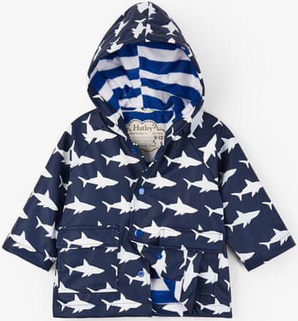 Hatley színváltó fiús vízhatlan kabát 74-80 kék
