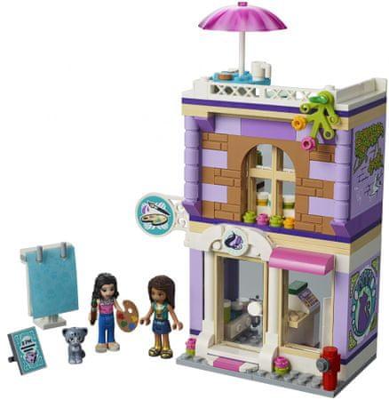 Lego Zestaw Friends 41365 Atelier Emmy Mallpl