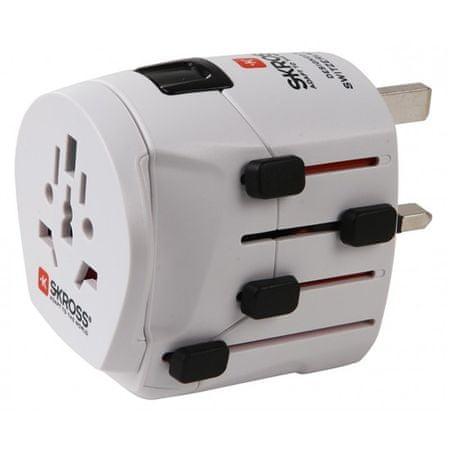 Skross potovalni adapter PRO Svet - Odprta embalaža