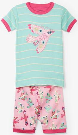 Hatley lány nyári pizsama 92 színes