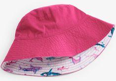 Hatley dívčí oboustranný klobouk UV 50+