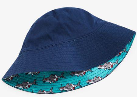 Hatley chlapecký oboustranný klobouk UV 50+ 92 - 98 modrá