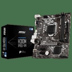 MSI matična ploča H310M PRO-VH, DDR4, SATA3, HDMI, USB3.1Gen1, LGA1151 mATX