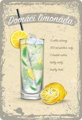 Postershop Plechová tabuľa: Domáca limonáda