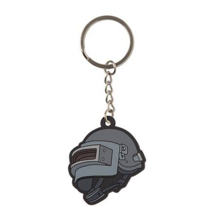 J!NX obesek za ključe Pubg Level 3 helmet Keychain