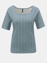 Tranquillo modré vzorované tričko Indrani