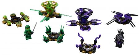 LEGO Zestaw Ninjago 70664 Spinjitzu Lloyd vs. Garmadon