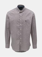 Fynch-Hatton vínová vzorovaná košile