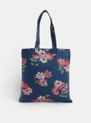Cath Kidston tmavě modrá dámská květovaná taška