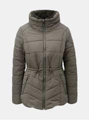 M&Co khaki prošívaná voděodolná zimní bunda