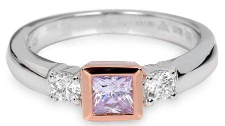 Silver Cat Srebrni prstan s kristali SC145 (Obseg 54 mm) srebro 925/1000