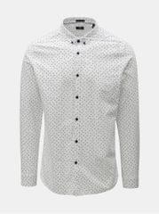 Dstrezzed bílá vzorovaná košile