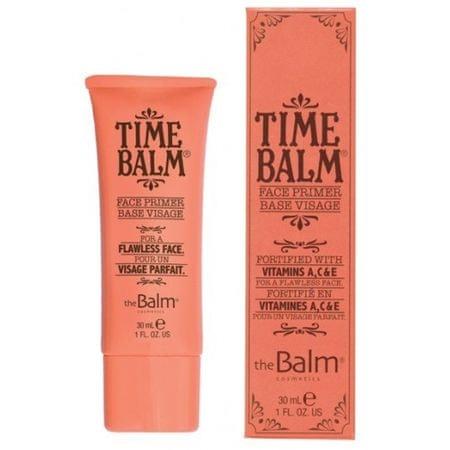 theBalm A szubsztrátum alap arc TimeBalm Primer 30 ml