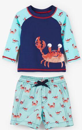 Hatley chlapecký plavecký set UV 50+ 80 modrá