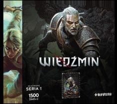 Képkirakó puzzle - Geralt (Witcher heroes) S1