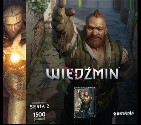 Képkirakó puzzle Witcher (Vaják) - Zoltan Chivay (The Witcher heroes) S2