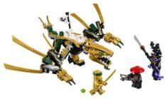 LEGO Zestaw Ninjago 70666 Złoty Smok