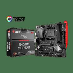 MSI matična ploča B450M MORTAR, DDR4, SATA3, USB3.1Gen2, DP, AM4 mATX
