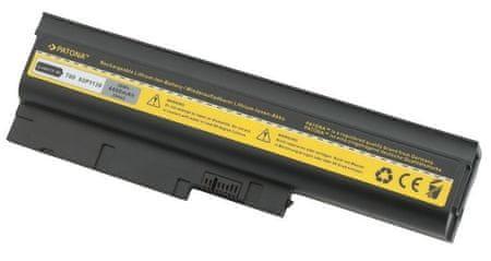 PATONA Akkumulátor a IBM THINKPAD T60/T61 notebookhoz 4400 mAh Li-Ion 10,8 V PT2044