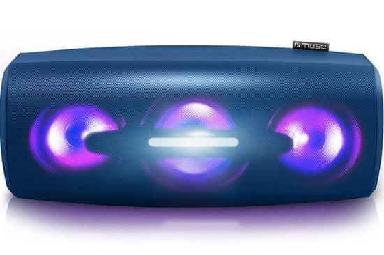 Muse M-930 DJ přenosný reproduktor, modrá