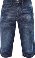 s.Oliver Férfi kék színű, térdig érő nadrág