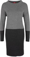 s.Oliver Dámské šaty 14.710.82.7148.97X0 Black/Grey