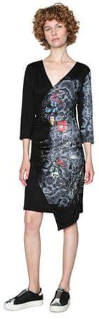 Desigual Női ruha Vest Next To Me 18SWVKBK 2000 (méret S)