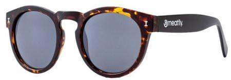 MEATFLY Okulary przeciwsłoneczne Pompei Sun okulary B-Żółw, Black
