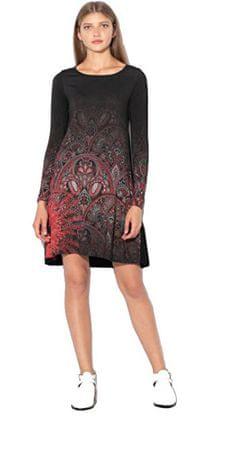88d4689c68 Desigual Női ruha Vest Jaipur Negro 18WWVK12 2000 (méret S)   MALL.HU