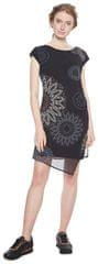 Desigual Dámské šaty Vest Sandrini Negro 18WWVW33 2000