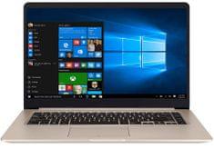 Asus prenosnik VivoBook S15 S510UF-BQ242 i5-8250U/8GB/SSD512GB/MX130/15,6FHD/EndlessOS (90NB0IK1-M11900)