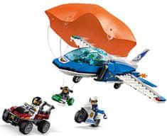 LEGO City Police 60208 Zatknutie zlodeja s padákom