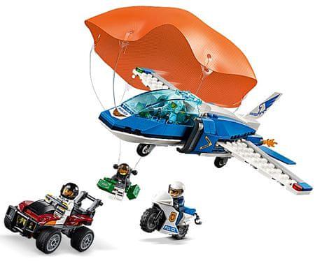 LEGO City Police 60208 Légi rendőrségi ejtőernyős letartóztatás